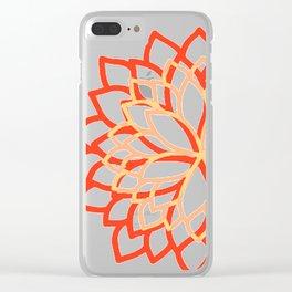 Delphine • Yoga pant 3 • Clear iPhone Case