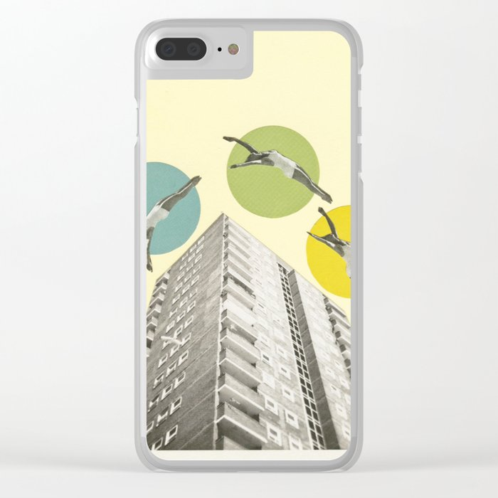 High Flyers Clear iPhone Case