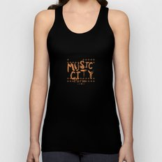 Music City Paris Unisex Tank Top