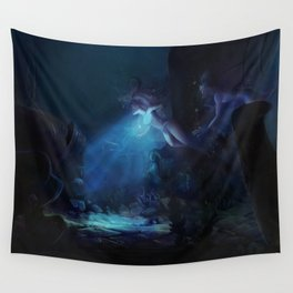 The Heart of  Atlantis Wall Tapestry