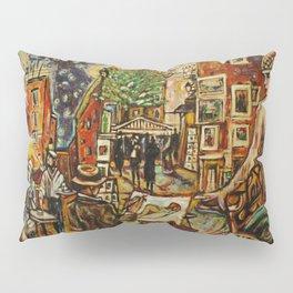 montmartre in paris Pillow Sham