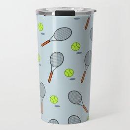 Tennis pattern Travel Mug