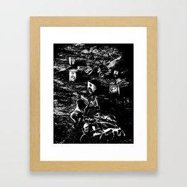 Space Odyssey Evolution Music Framed Art Print