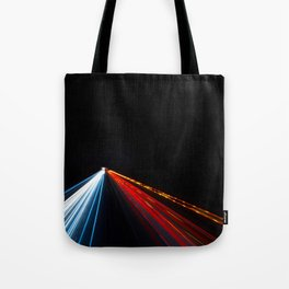 Two Way Traffic Lights Tote Bag