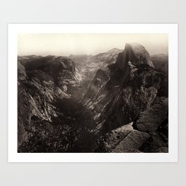 Half Dome, Yosemite Valley, California Art Print