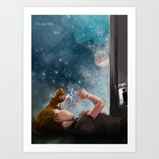 One day Milly Art Print