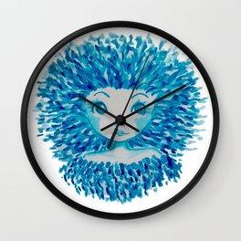 Winter Woman Wall Clock