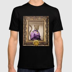Grand Viceroy Leopold Leopard MEDIUM Mens Fitted Tee Black