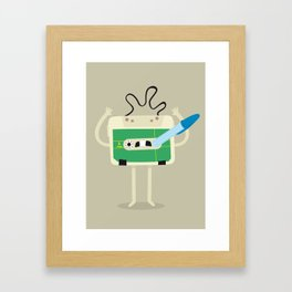 MUSIC! Framed Art Print