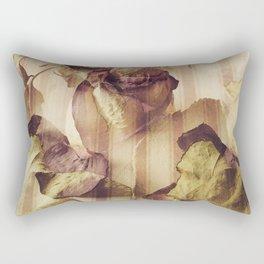 rose petals, french pattern Rectangular Pillow