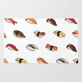 Pixelated Sushi Rug