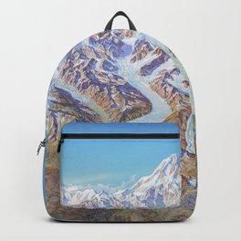 Heinrich Berann - Panoramic Painting of Denali National Park (1994) Backpack