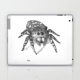 Inktober 2016: Jumping Spider Laptop & iPad Skin