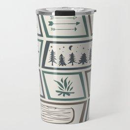 Camping [Color] Travel Mug