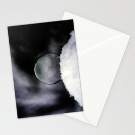 Daybreak Light on Snowy Day Stationery Cards