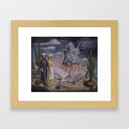 The Introduction Framed Art Print