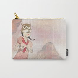 Chipmunk Girl Carry-All Pouch