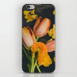 Spring Tulip Flowers iPhone Skin