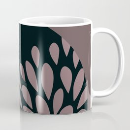 Afro Diva : Sophisticated Lady Pale Pink Peach Taupe Coffee Mug