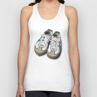 tigers Tank Tops featuring Old Tigers by BROADSIDE ART WORKS