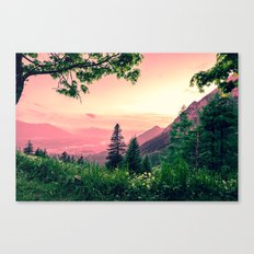 Alpine Fairytale Canvas Print