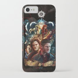 Family Don't End with Blood iPhone Case