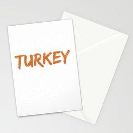 Funny Bonsai Turkey Nap Repeat Thanksgiving Bonsa Lover Gift T-Shirt Stationery Cards