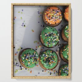 cupcakes irl Serving Tray
