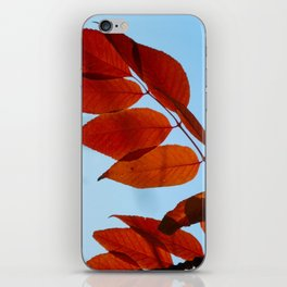 Vermillion Fingers iPhone Skin