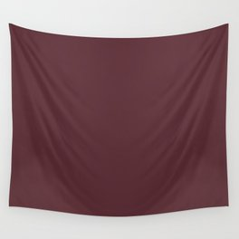 Tawny Port | Pantone Fashion Color Fall : Winter 2017 | Solid Color Wall Tapestry