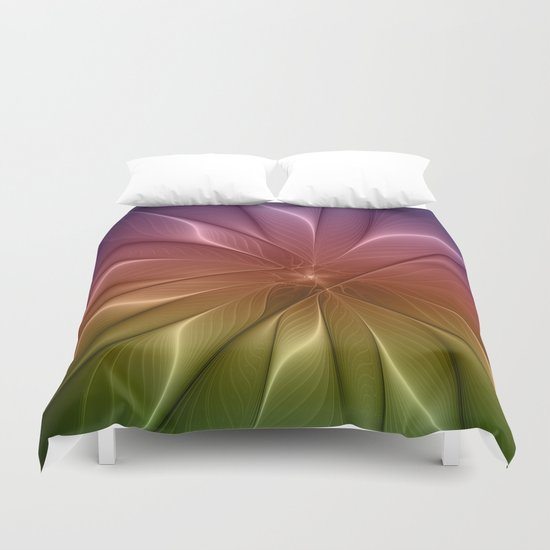 The Life of Colors Duvet Cover