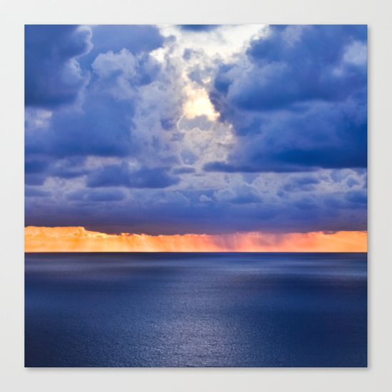 'tween sea and sky, after Rothko. Canvas Print