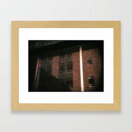 The City - Walls #4 Framed Art Print