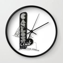 Carlos Club Wall Clock