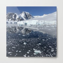 Antarctica au naturel Metal Print