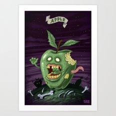 Apple - Food series Art Print