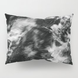 Waves III - Black and White Pillow Sham