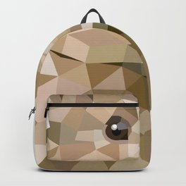Rabbit Bunny  Geometric animal art Backpack