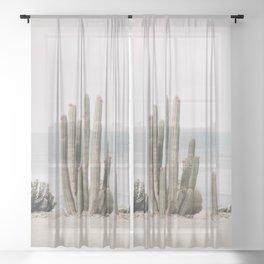 Blooming Sheer Curtain