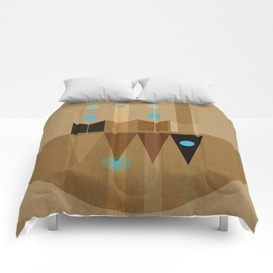 Geometric/Abstract 10 Comforters
