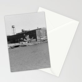 greenpoint muraled warehouse Stationery Cards