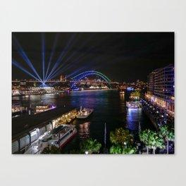 Vivid Sydney 2017 Canvas Print
