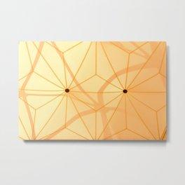 Buckminster Fuller's Buttons Metal Print