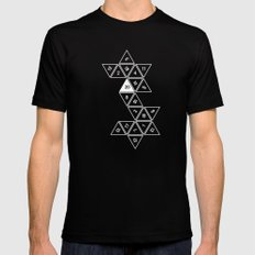 Unrolled D20 Black 2X-LARGE Mens Fitted Tee