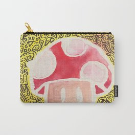 One Upper Mushroom zendoodle Carry-All Pouch