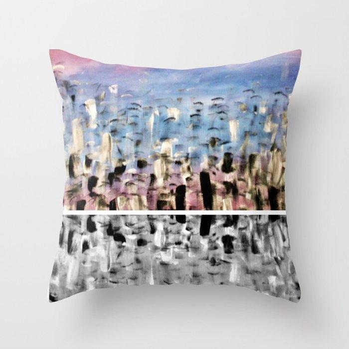 Pink2 Throw Pillow