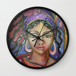 Her Gypsy Soul Wall Clock