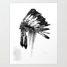 Native Living Art Print