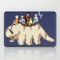 aang iPad Cases featuring The Gaang by NeleVdM