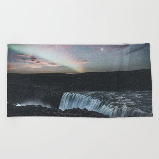Dettifoss, Iceland II Beach Towel